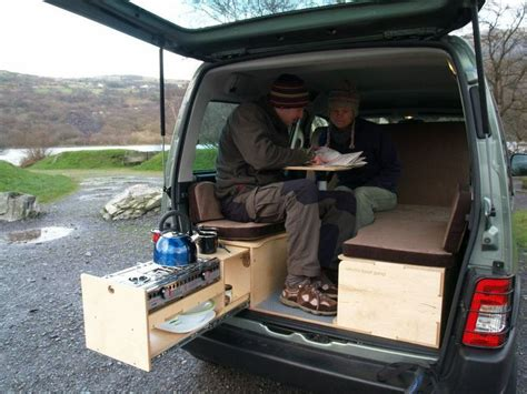 Tacoma Tent And Awning Amdro Boot Jump In Peugeot Partner Campervan Ideas