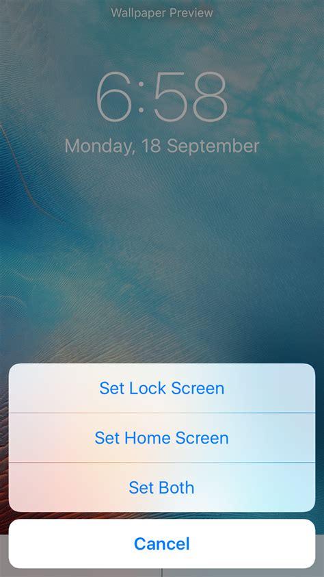 change iphone lock screen wallpaper leawo tutorial center