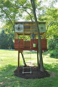 tree houses 33 simple and modern kids tree house designs freshnist