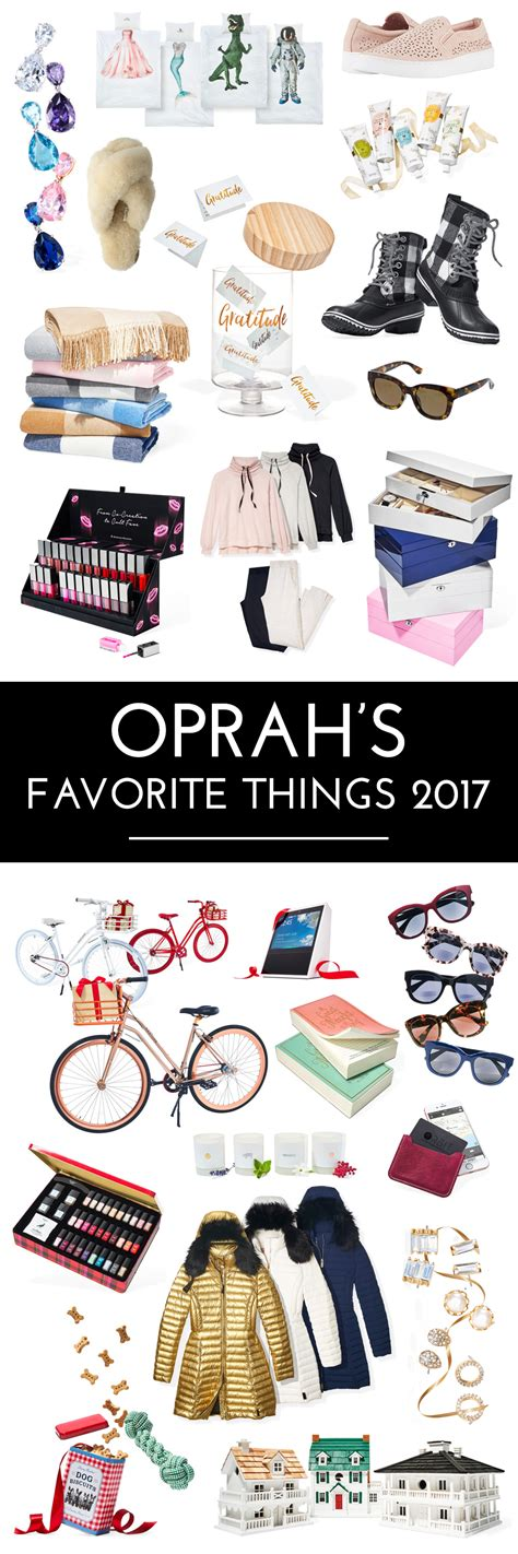 the best of oprah s favorite things 2017 christmas gift