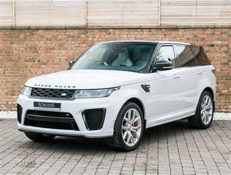range rover white interior white range rover sport with interior cars auto