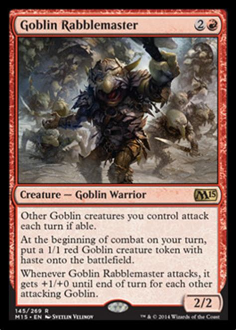 goblin deck m15 intentional spoilers speculation