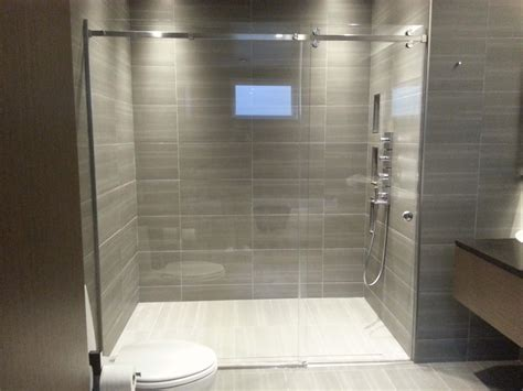 In Shower by Sliding Shower Door System Pars Glass