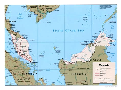 map of malaysia nationmaster maps of malaysia 8 in total