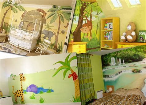 deco chambre jungle decoration chambre jungle
