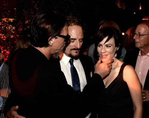 charlie hunnam and maggie siff relationship tommy flanagan photos photos premiere of fx s quot sons of