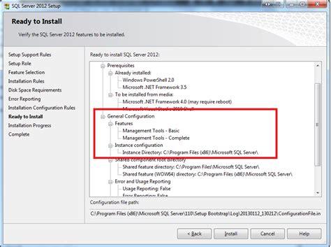 installing sql server 2012 for configuration manager 2012 windows can ms sql management studio 2012 be installed