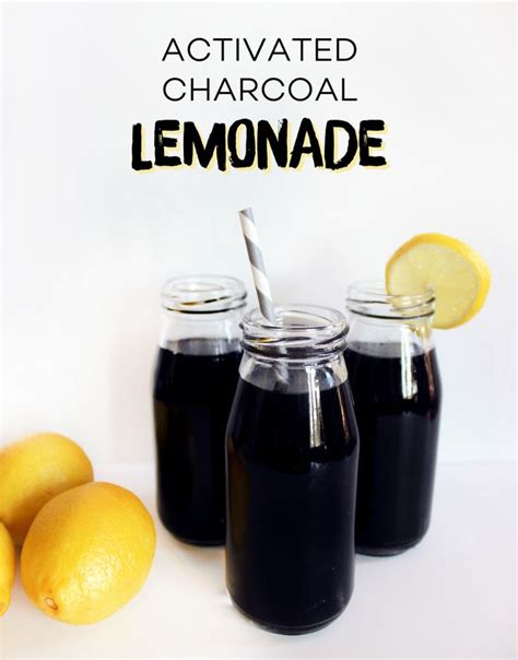 Activated Charcoal Carbon Detox by Activated Charcoal Lemonade Style Spice Drinks