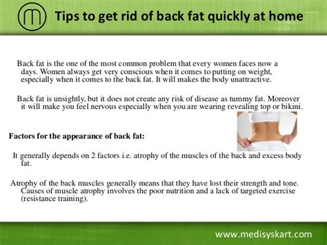tips to get rid of back quickly at home
