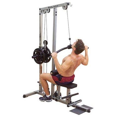 solid pro lat machine at home fitness