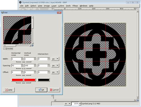image grid layout gimp how to create grid in gimp not sure if the filter is good