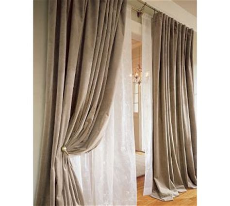 velvet drapes pottery barn according to lia september 2009