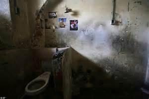 prison bathroom inside ecuador s garcia moreno prison daily mail online
