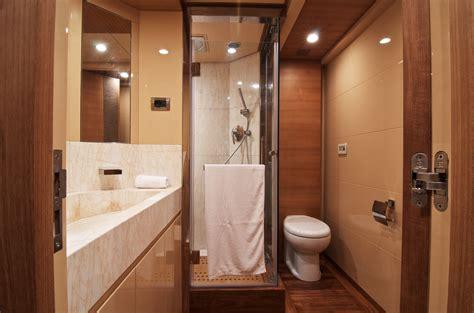 electra superyacht master cabins bathroom yacht modern yacht inside pic decobizz com