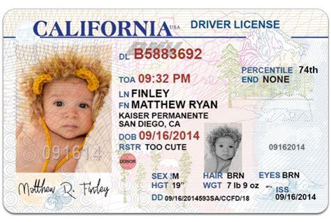 Send 1 California Drivers License Photoshop Templat California Drivers License Template
