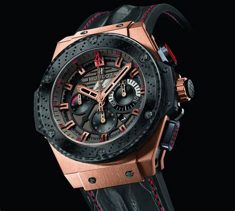 Jam Hublot F1 the hublot formula 1 king power great britain chronograph