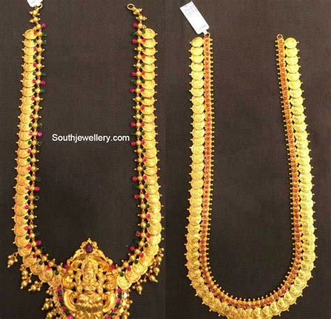 images of designs traditional gold lakshmi kasulaperu collection jewellery