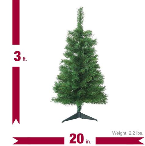 home accents holiday 3 ft unlit tacoma pine artificial