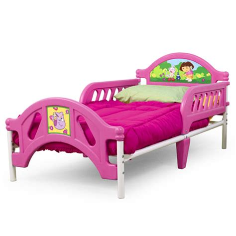 dora bed dora the explorer toddler bed toddler walmart com