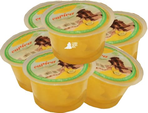 Carica Syrup Gemilang Isi 6 minuman manisan carica dieng 250 gr box isi 6 cup candi dieng mhs wonosobo