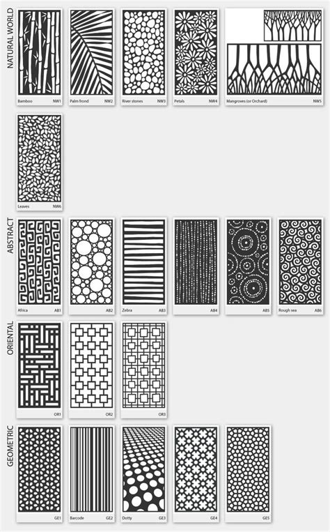 pattern making and cutting laser cut metal screens usa found on urbandesignsystems