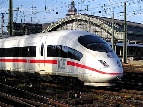 The ice train die bahn deutsche bahn ag the german railway intercity