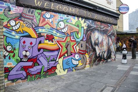 libro street art london london street art self guided walking tour