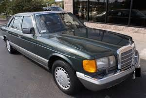1987 Mercedes 420sel Daily Turismo 10k 1987 Mercedes 420 Sel 36k