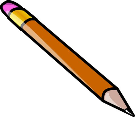 gambar pensil clipart best