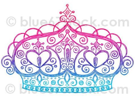 doodle tiara doodle drawings princess tiara and vector illustrations