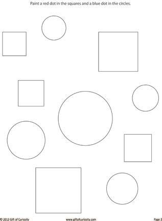 printable dot to dot shapes 7 best images of shape sorting worksheets printable cut