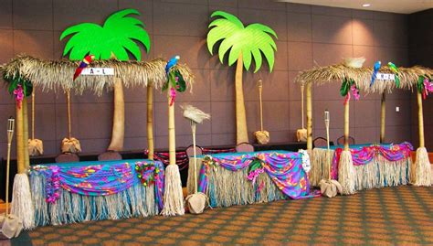 island themed decorations island vbs decoration ideas tiki huts for a