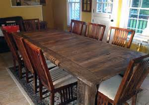 Large Reclaimed Wood Dining Table 34 Incredbile Reclaimed Wood Dining Tables