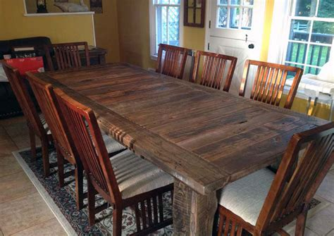 large wood dining tables 34 incredbile reclaimed wood dining tables