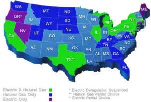 us deregulated states energy deregulation