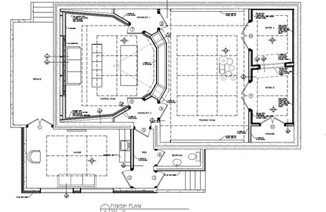recording studio floor plans wes lachot design new recording studio in slovenia