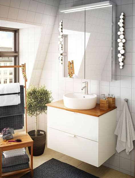 enjoy proper illumination with ikea bathroom light