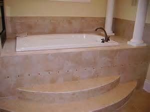rounded steps on whirlpool tub tiling contractor talk