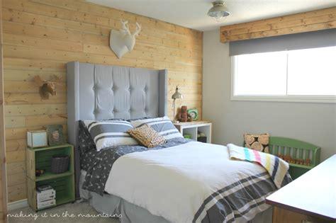 Boy Bedroom by One Week Challenge The Big Reveal Rustic Boy S Bedroom