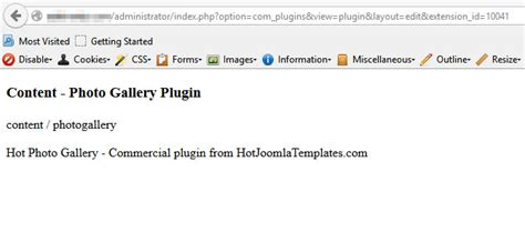 hot hot configuration can t open plugin configuration in backend hotthemes