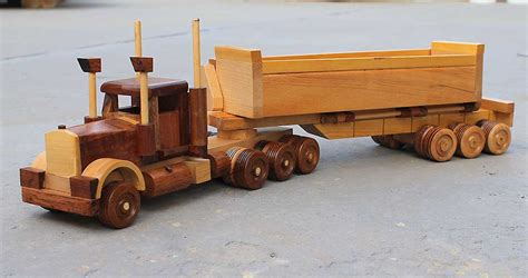 Wood Floor Kits For Semi Trucks by Build Big Wood Toy Trucks Fisherprice Wood Project And Diy