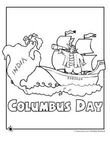 columbus day kids az coloring pages
