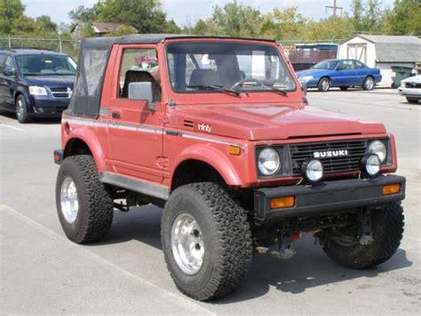 Jeep Samurai 1987 Suzuki Samurai 3 999 Or Best Offer 100091935