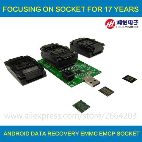 Plat Emmc Bga 5 In 1 ᗖ3 in 1 emmc emmc emcp test socket bga153 169 bga162 186 bga221 ᗗ reader reader 11x10mm 11