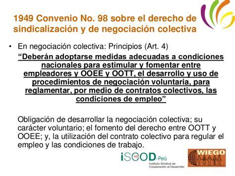 convenio colectivo de trabajo n 306 98 derecho de la semana 1 derecho a la libertad sindical