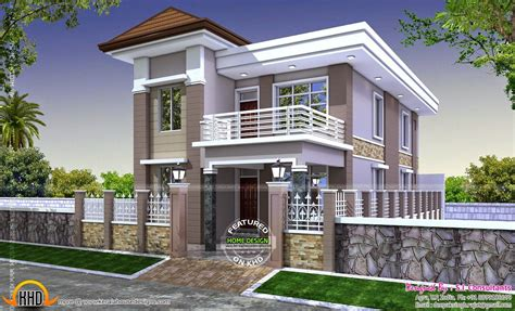 ordinary three bedroom house plan india modern house