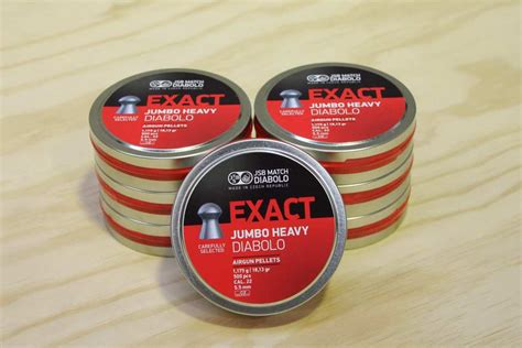 Jsb Exact Jumbo Heavy 22 ammunition and pellets jsb air pellets 22 pellets