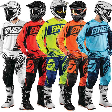 kids motocross gear packages atv parts riding gear jersey pant glove combos