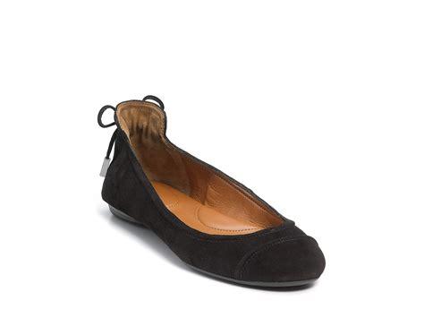 calvin klein shoes flats calvin klein ballet flats in black plum lyst