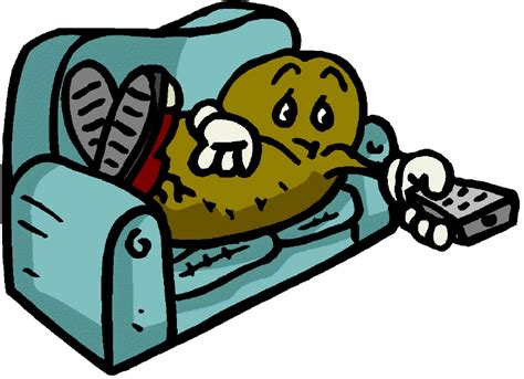couch potato cartoon couch potato clipart cliparts co